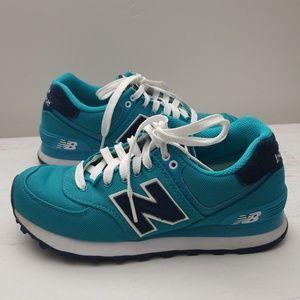 New Balance | 574 Teal Lace up sneakers | Size 5.5